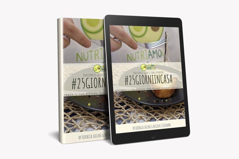 ebook 25 giorni in casa
